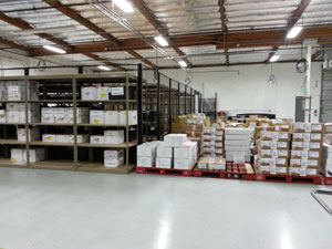 EMS Component Warehousing and Kitting Services