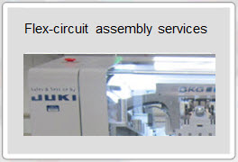 Flex PCB circuit assembly services