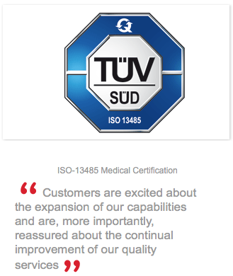 ISO-13485 Certification